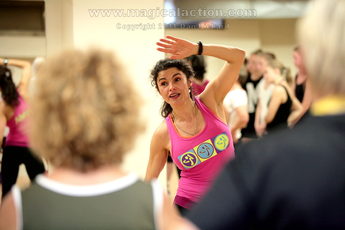 Angela Orozco Zumba workshop